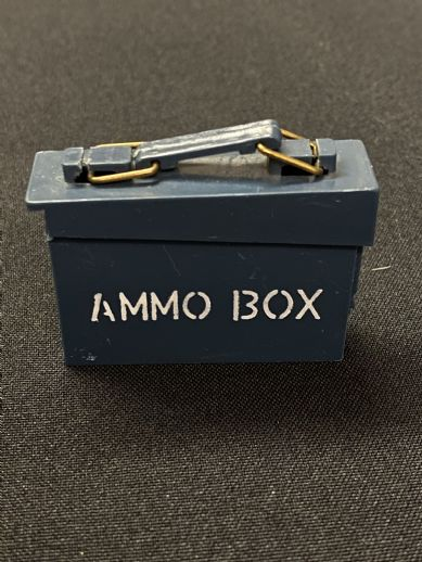 VINTAGE ACTION MAN - ACTION SAILOR - BLUE AMMO BOX